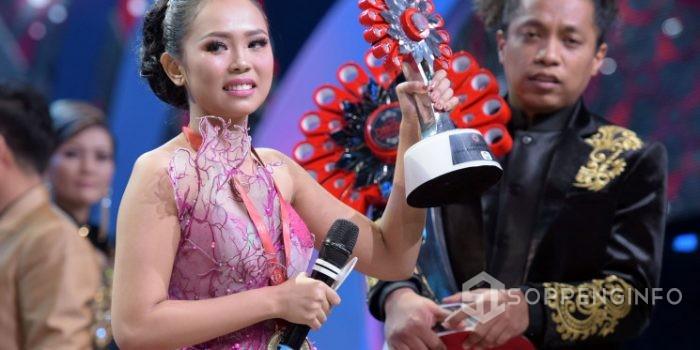 Selamat, Selfi Soppeng perwakilan Sulawesi Selatan Juarai Liga Dangdut Indonesia 2018