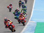 Jadwal MotoGP Jerez Spanyol 2018, Marquez Terjatuh
