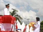 Bupati Soppeng Inspektur Upacara HUT RI 73