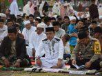 Bupati Dan Wakil Bupati Soppeng Shalat Idul Adha Bersama Warga