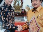Hadiri Audiensi Apkasi, Kaswadi Laporkan Festival Lagaligo Ke Presiden Jokowi