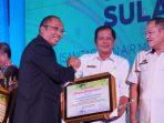 Sukses Dengan Gerakan SoBAT, Soppeng Raih Penghargaan Saoraja AMPL Award
