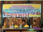 DPKP Soppeng Adakan Workshop Produksi Hasil Perikanan