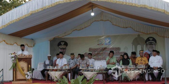 Safari Ramadhan di Soppeng, Ini yang Wagub Sulsel Sampaikan Ke Masyrakat