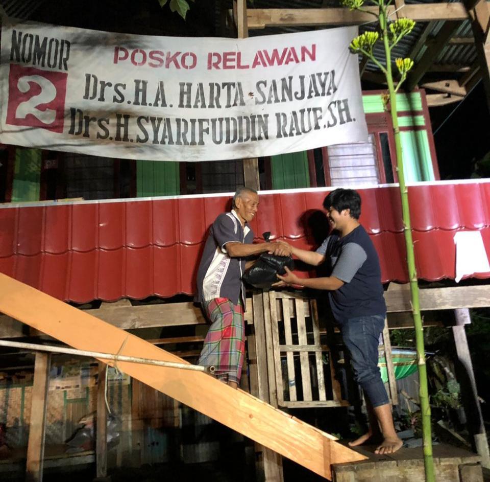 72 Community Salurkan Bantuan Untuk Korban Banjir Di Dua Kecamatan